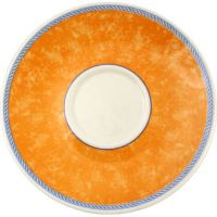 Churchill New Horizons Orange Espresso Saucer