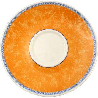 Churchill New Horizons Orange Espresso Saucer